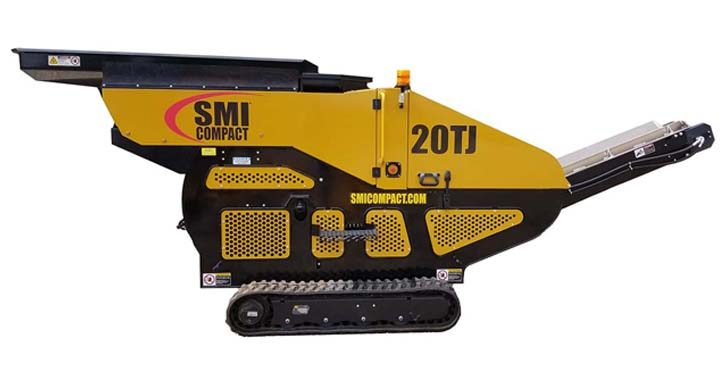 20TJ Tracked Jaw Crusher